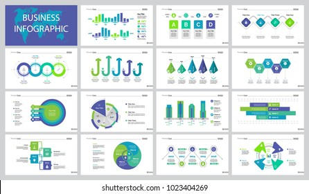 Successful Business Slide Templates Set