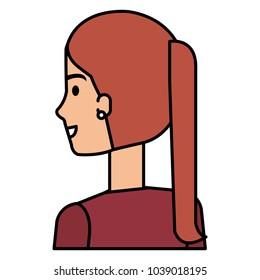 successful businesswoman avatar character