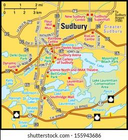 Ontario Road Map Images Stock Photos Vectors Shutterstock