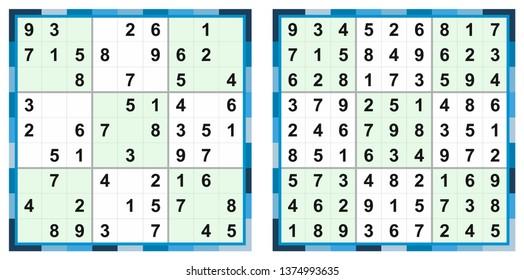 Sudoku Vector Set Hard Images, Stock Photos & Vectors | Shutterstock
