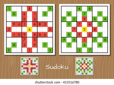 Sudoku hard level vector set