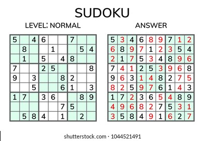 Kids Sudoku Images, Stock Photos & Vectors | Shutterstock