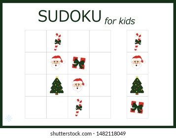 picture relating to Christmas Sudoku Printable known as Sudoku Pics, Inventory Photographs Vectors Shutterstock