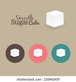 Sugar Cube with Rough edges