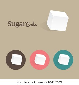 Sugar Cube with texture