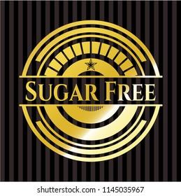 Sugar Free golden badge