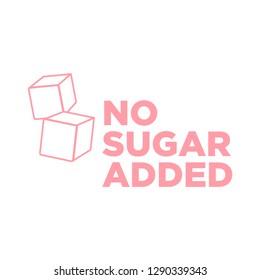 Sugar free icon. Vector illustration.