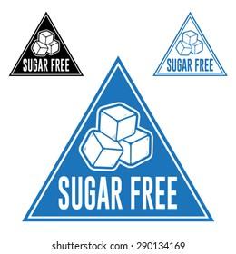Sugar Free Triangle Icon