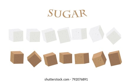 sugar, white, illustration, vector, beet, cube, refined, bowl, food, sweet, isolated, ingredient, cubes, cane, natural, background, product, granulated, logo, drawing, fresh, cooking, sucrose, cartoon