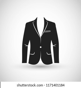 Suit icon vector