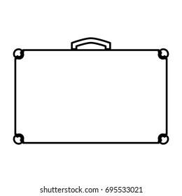 Suitcase icon .