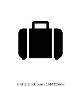 Suitcase Icon Vector Design Illustration
