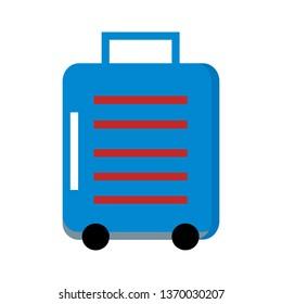 Suitcases  travel Icon Vector -