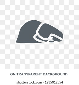 Sujud Posture icon. Trendy flat vector Sujud Posture icon on transparent background from Religion  collection.