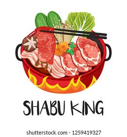 Sukiyaki & Shabu-Shabu Hot Pot.