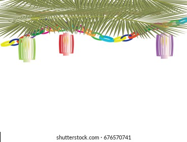 Sukkot - one of the Jewish new year holiday banner