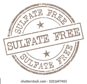 Sulfate Free Stamp