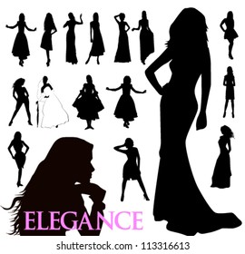 suluety elegant women