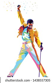 Download Freddie Mercury Disegno