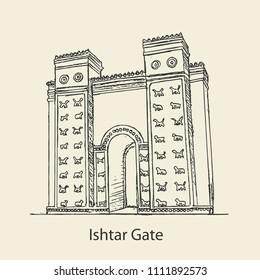 Sumerian Ishtar Gate