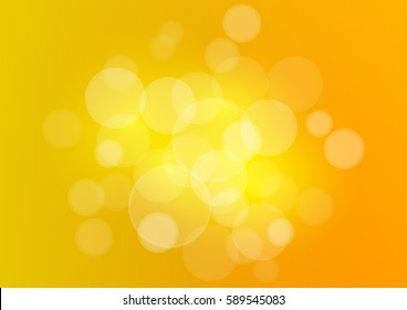 Summer background with sun burst and lens flare