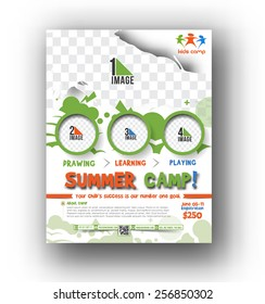 Summer Camp Flyer & Poster Template