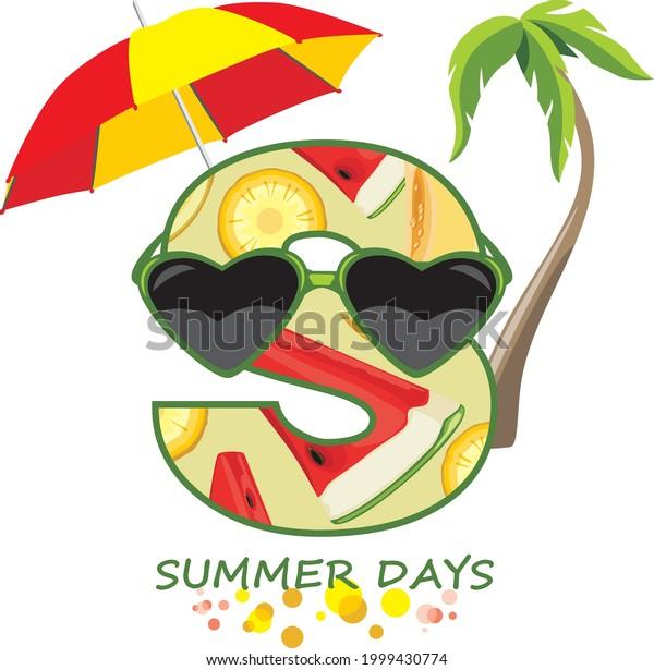 summer-days-funny-design-tshirt-600w-199