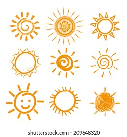 Summer design over white background, vector illustration