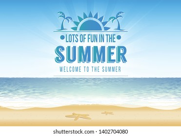 Summer Design Party Template Poster