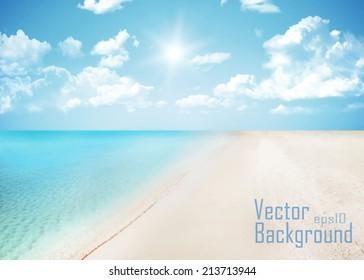 Summer design. Vector.