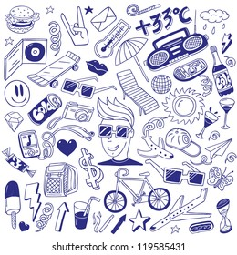 summer - doodles collection