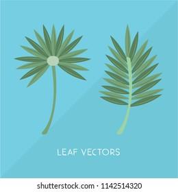 summer elemnts vectors