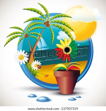 Summer Flower