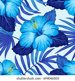 Blue Hibiscus Images Stock Photos Vectors Shutterstock