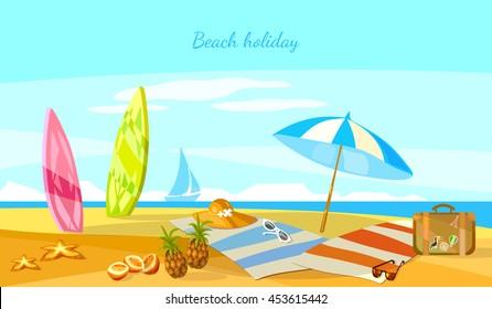 cartoon beach scene images stock photos vectors shutterstock rh shutterstock com cartoon beach scene background cartoon beach scenery