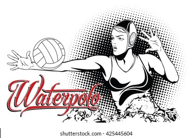 Summer kinds of sports. Water polo.