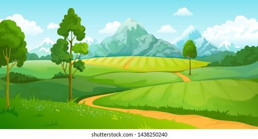 Imágenes, fotos de stock y vectores sobre Montaña Landscape