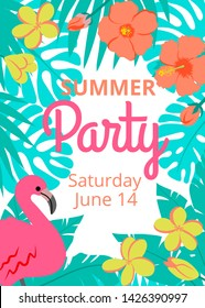 Hawaii Party Invite Images Stock Photos Vectors