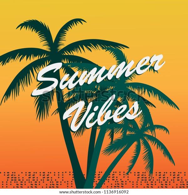 Vector De Stock Libre De Regalías Sobre Summer Party