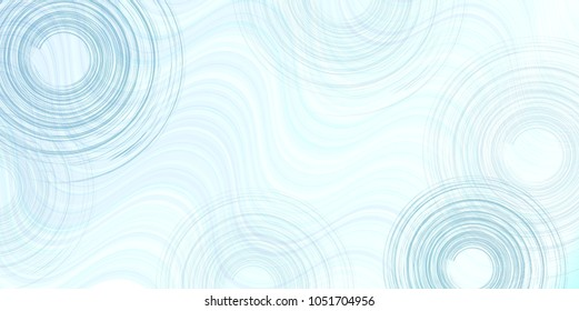 Summer rippled water background