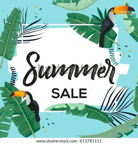 Summer Sale Background For Banner Wallpaper Universal Seasonal Design Flyer Invitation