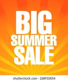 Summer sale poster