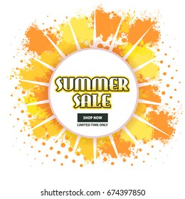 Summer Sale Theme Website Banner