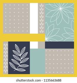 summer scarf pattern design