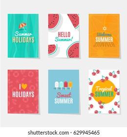 Summer Season Cards