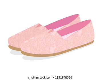 Summer Shoes, Espadrilles, Shoes for Women, Pastel Colors. Shoes with Model.