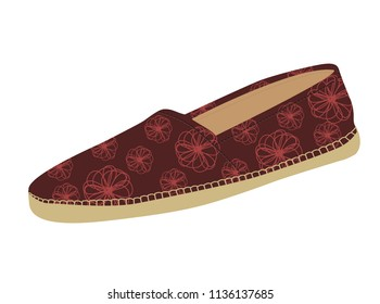 Summer Shoes, Espadrilles, Shoes for Women, Textile Shoes.