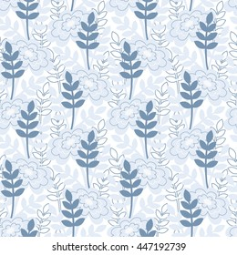Summer style vector background pattern