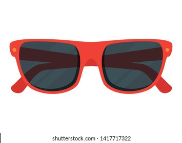 summer sunglasses accessory isolated icon