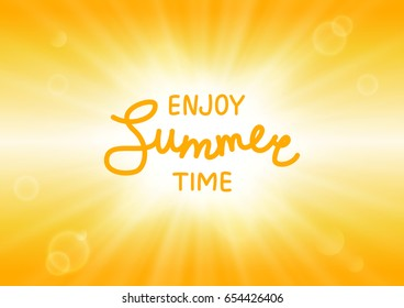 Summer sunny background for Your design